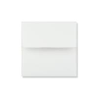 175 x 175mm WHITE LINEN ANNOUNCEMENT ENVELOPES