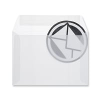 C6 WHITE TRANSLUCENT ENVELOPES