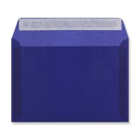 C5 DARK BLUE TRANSLUCENT ENVELOPES