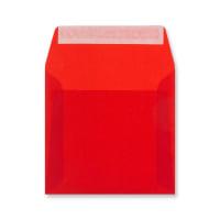 125 x 125MM RED TRANSLUCENT ENVELOPES