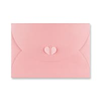 C5 BABY PINK BUTTERFLY ENVELOPES