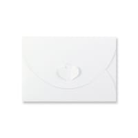 C6 WHITE BUTTERFLY ENVELOPES