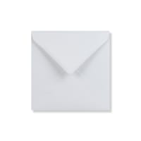 WHITE 130mm SQUARE ENVELOPE