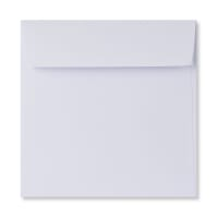 140MM SQUARE WHITE 120GSM PEEL AND SEAL ENVELOPES