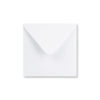 WHITE 155mm SQUARE ENVELOPE 120GSM