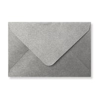 62 X 94MM SILVER TEXTURED ENVELOPES