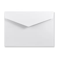 C6 WHITE V-FLAP PEEL AND SEAL ENVELOPES