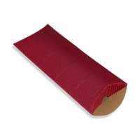 220 x 110 + 30MM DL RED CORRUGATED PILLOW BOXES