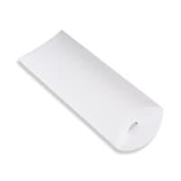220 x 110 + 30MM DL WHITE CORRUGATED PILLOW BOXES