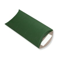 162 x 114 + 30MM C6 DARK GREEN CORRUGATED PILLOW BOXES