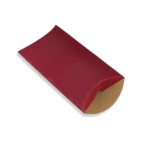 162 x 114 + 30MM C6 RED CORRUGATED PILLOW BOXES