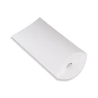 162 x 114 + 30MM C6 WHITE CORRUGATED PILLOW BOXES