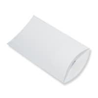 229 x 162 + 30MM C5 WHITE CORRUGATED PILLOW BOXES