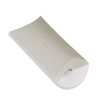 113 x 81 + 30MM C7 SILVER CORRUGATED PILLOW BOXES