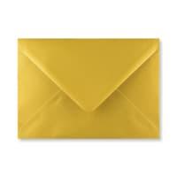 METALLIC GOLD 133 x 184mm ENVELOPES (i8) (NEW SHADE)