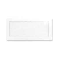 DL WHITE FULL VIEW WINDOW ENVELOPES
