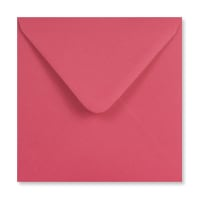 BRIGHT PINK 155mm SQUARE ENVELOPES 120GSM