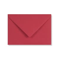 C6 BRIGHT RED ENVELOPES 120GSM