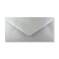 DL SILVER ENVELOPES 120GSM
