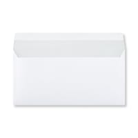 DL WHITE WOVE PEEL AND SEAL ENVELOPES 120GSM