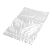 PLAIN POLYTHENE GRIP SEAL BAGS (125 x 190mm)
