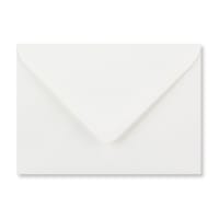 C6 WHITE LAID ENVELOPES