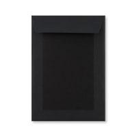 C5 FULL BLACK BOARD BACK ENVELOPES