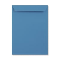 C4 BRIGHT BLUE PEEL AND SEAL ENVELOPES