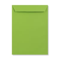 C4 MID GREEN PEEL AND SEAL ENVELOPES