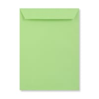 C4 PALE GREEN PEEL AND SEAL ENVELOPES