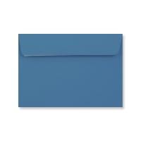 C6 BRIGHT BLUE PEEL & SEAL ENVELOPES