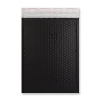 C4 GLOSS METALLIC BLACK PADDED ENVELOPES (324 x 230MM)