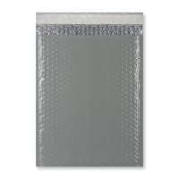 C4 GLOSS METALLIC DARK GREY PADDED ENVELOPES (324 x 230MM)