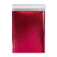 C4 GLOSS METALLIC RED PADDED ENVELOPES (324 x 230MM)