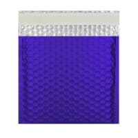 165MM SQUARE MATT METALLIC DARK BLUE PADDED ENVELOPES
