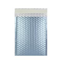 C5 + MATT METALLIC ICE BLUE PADDED ENVELOPES (250 x 180MM)