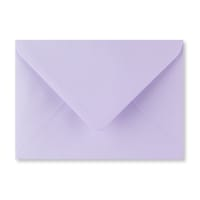 PASTEL LILAC 125 x 175 mm ENVELOPES (i6)