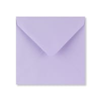 PASTEL LILAC 130mm SQUARE ENVELOPES