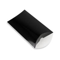 162 x 114 + 35MM C6 BLACK PILLOW BOXES