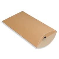 229 x 162 + 35MM C5 MANILLA KRAFT PILLOW BOXES