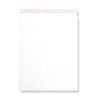 270 x 216mm WHITE 180GSM PEEL AND SEAL ENVELOPES