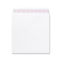 WHITE 220mm SQUARE 180GSM PEEL AND SEAL ENVELOPES