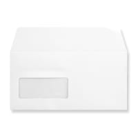 DL WHITE WINDOW 180GSM PEEL AND SEAL ENVELOPES
