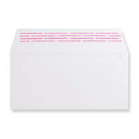 DL PLUS WHITE 180GSM PEEL AND SEAL ENVELOPES