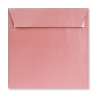 155 x 155MM BABY PINK PEARLESCENT ENVELOPES