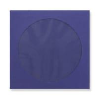 85 x 85mm NAVY BLUE MINI CD WINDOW ENVELOPES