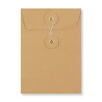 C6 MANILLA STRING & WASHER ENVELOPES 180GSM