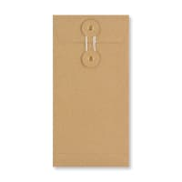 DL MANILLA STRING & WASHER ENVELOPES 180GSM