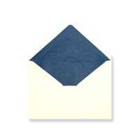 C6 Ivory Envelopes Lined With Blue Paper