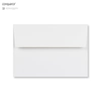 C6 BRILLIANT WHITE CONQUEROR LAID ENVELOPES